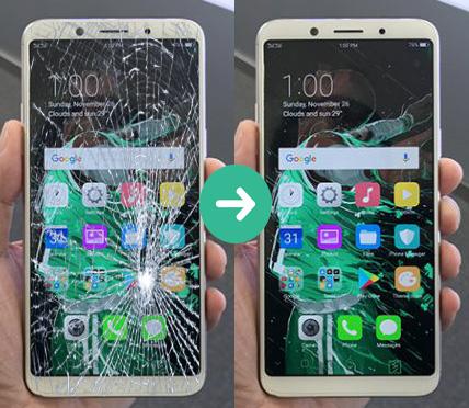 Giá trên là giá Thay mặt kính điện thoại OPPO F11 Pro  Trường hợp màn hình Oppo F11 Pro mất hiển thị hoặc liệt cảm ứng vui lòng gọi để được tư vấn và báo giá : Hotline 039.272.4503
