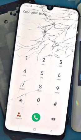 Ép kính điện thoại Samsung A50 giá rẻ tại Huế
