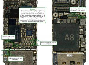 Sửa iPhone 6 mất nguồn tại Huế